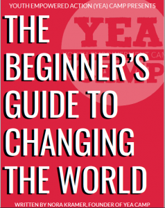 The Beginner's Guide to Changing the World Book Cover