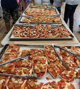 Who says vegan pizza has to be boring? Check out all these toppings!